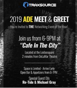 Traxsource Meet and Greet Invitation
